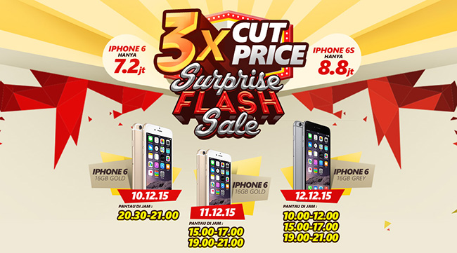 Surprise Flash Sale iPhone